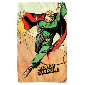 Flash Gordon Space Face Hand Towel