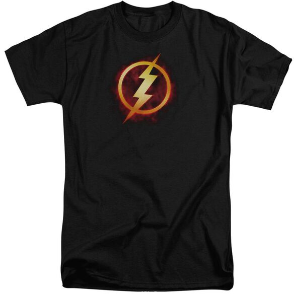 Jla Flash Title Short Sleeve Adult Tall T-Shirt