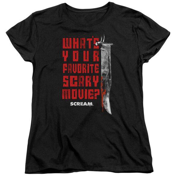 Scream Favorite Short Sleeve Womens Tee T-Shirt