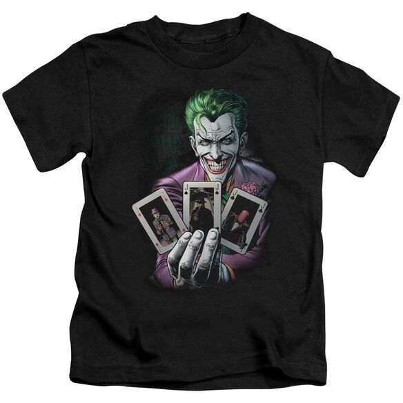 Batman 3 Of A Kind Short Sleeve Juvenile T-Shirt
