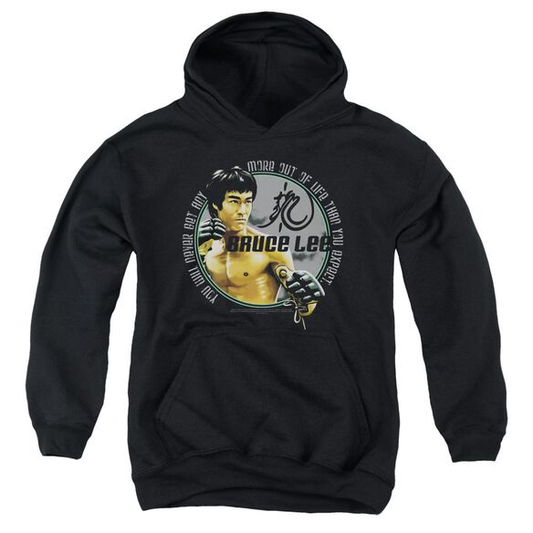 Bruce Lee Expectations Youth Pull Over Hoodie