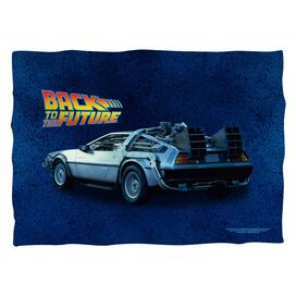 Back To The Future Delorean Poly 20 X28 Pillow Case