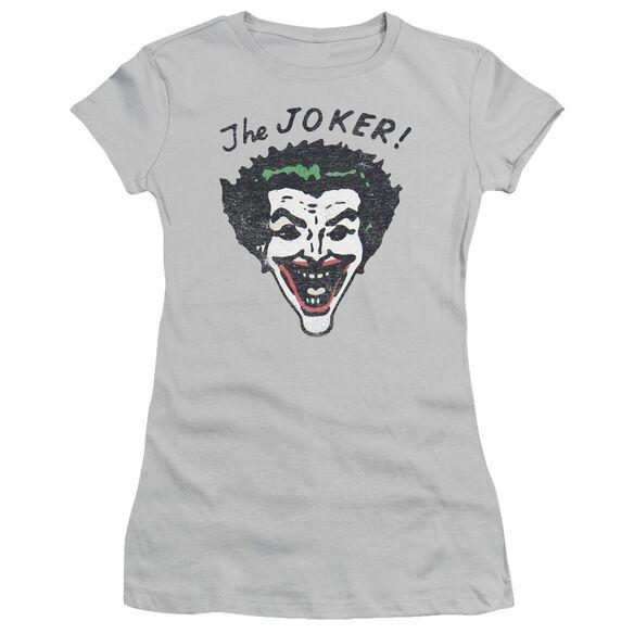 Batman Retro Joker Short Sleeve Junior Sheer T-Shirt