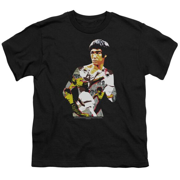 Bruce Lee Body Of Action Short Sleeve Youth T-Shirt