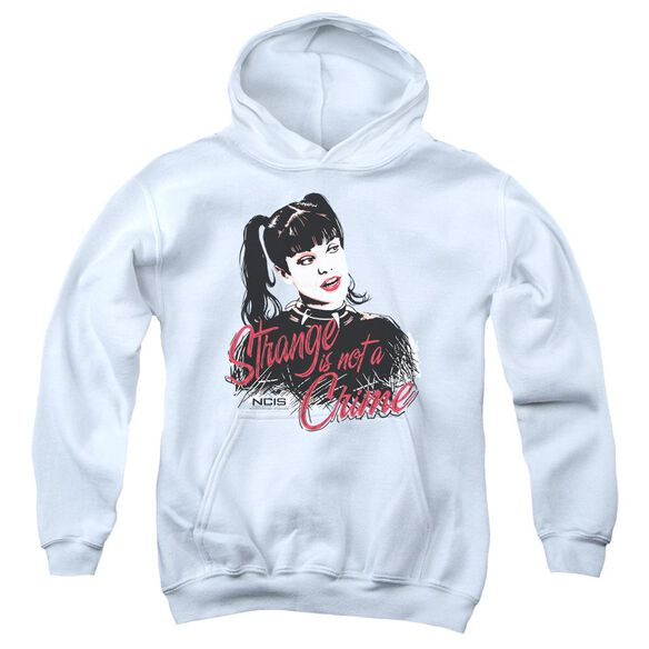 Ncis Strange Is Not A Crime Youth Pull Over Hoodie