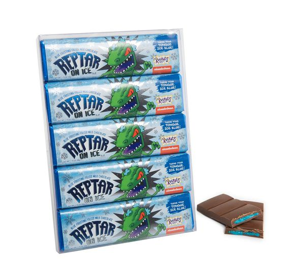 Nickelodeon Reptar On Ice Chocolate Bar 5 pack