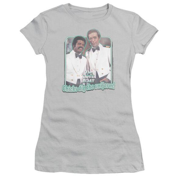 Love Boat Dig The Uniform Short Sleeve Junior Sheer T-Shirt