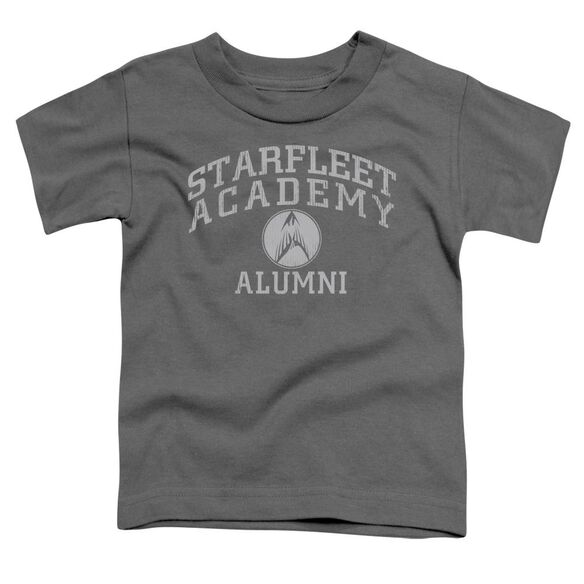 Star Trek Alumni Short Sleeve Toddler Tee Charcoal Lg T-Shirt