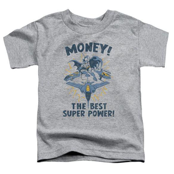 Dc Money Short Sleeve Toddler Tee Athletic Heather Sm T-Shirt