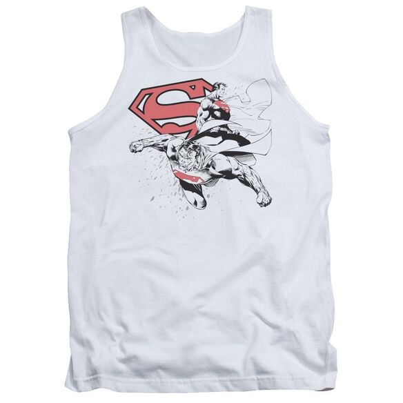 Superman Double The Power Adult Tank