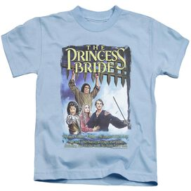 Princess Bride Alt Poster Short Sleeve Juvenile Light Blue T-Shirt