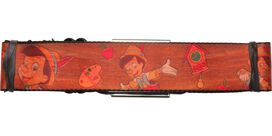 Pinocchio Wood Grain Poses Seatbelt Belt