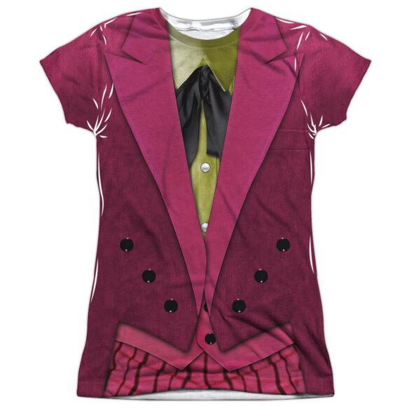 Batman Classic Tv Joker Uniform Short Sleeve Junior Poly Crew T-Shirt