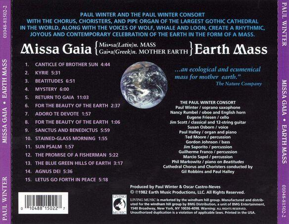 Earth Mass Missa Gaia0306