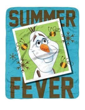 Frozen Summer Fever Throw Blanket
