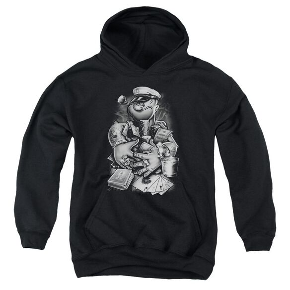 Popeye Mine All Mine Youth Pull Over Hoodie