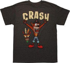 Crash Bandicoot Tiki Mask T-Shirt