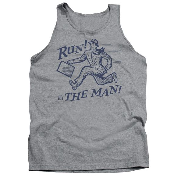 The Man - Adult Tank - Athletic Heather