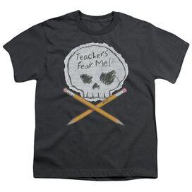 Teachers Fear Me Short Sleeve Youth T-Shirt