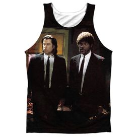 Pulp Fiction Vincent And Jules Adult Poly Tank Top