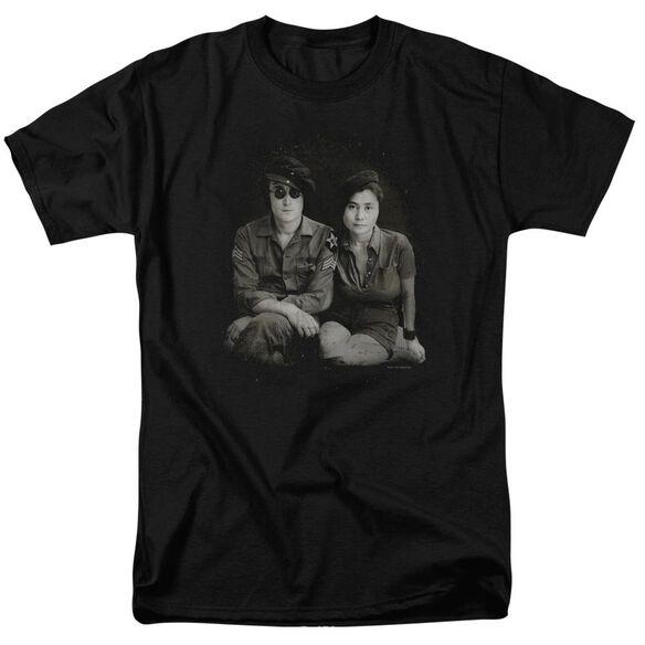 John Lennon Beret Short Sleeve Adult T-Shirt