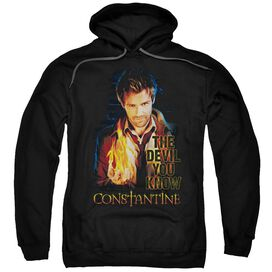 Constantine Devil You Know Adult Pull Over Hoodie
