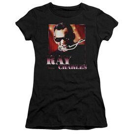 Ray Charles Sing It Short Sleeve Junior Sheer T-Shirt
