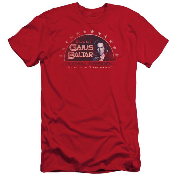 BSG ELECT GAIUS - S/S ADULT 30/1 - RED T-Shirt