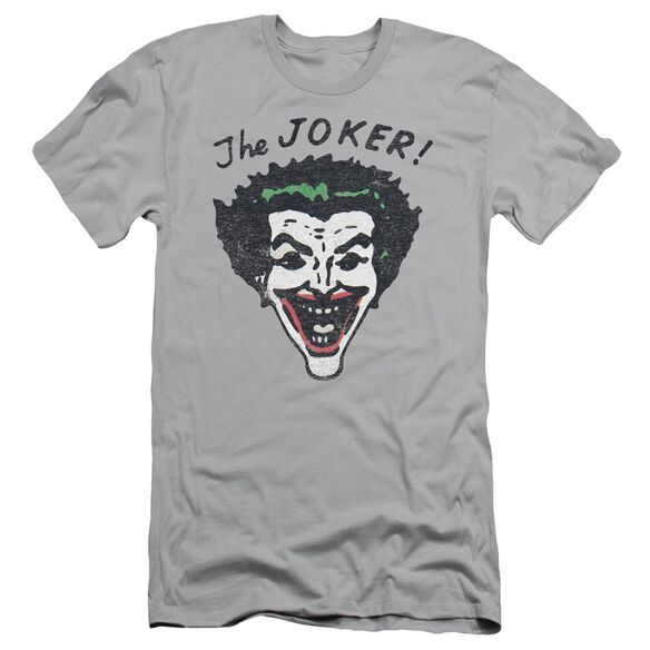 Batman Retro Joker Short Sleeve Adult T-Shirt