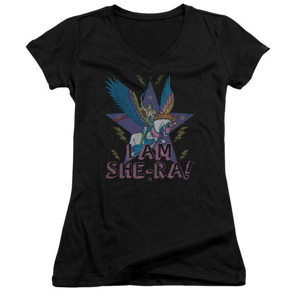 She Ra I Am She Ra Junior V Neck T-Shirt