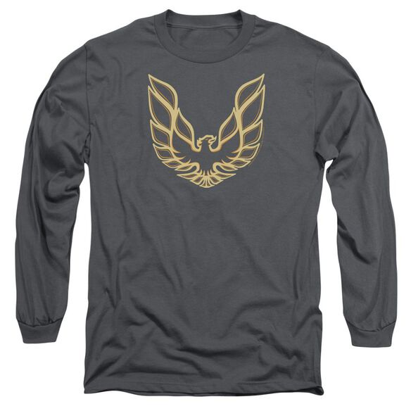 Pontiac Iconic Firebird Long Sleeve Adult T-Shirt