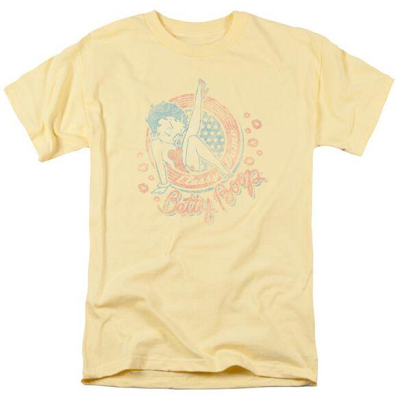 Betty Boop Classy Dame Short Sleeve Adult Banana T-Shirt