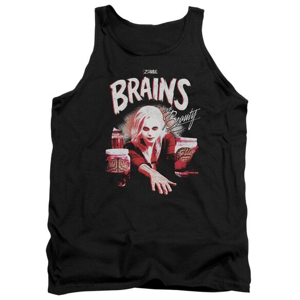 Izombie Brains And Beauty Adult Tank