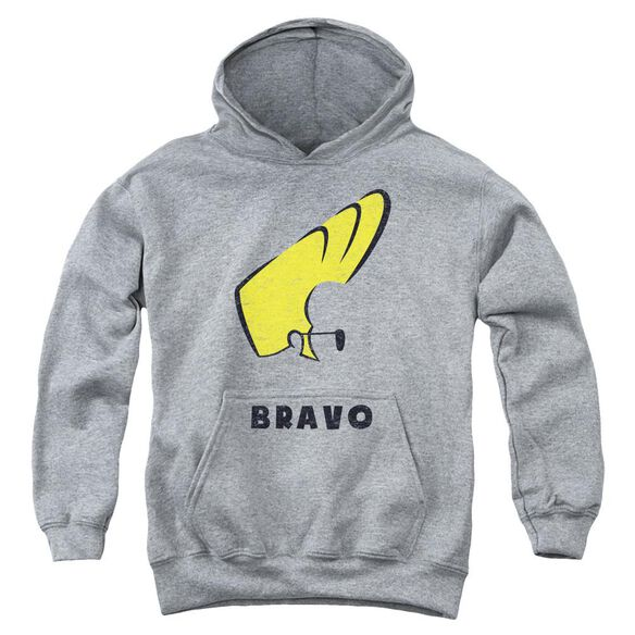 Johnny Bravo Johnny Hair Youth Pull Over Hoodie