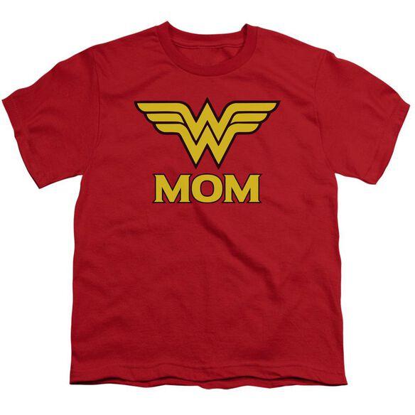 Dco Wonder Mom Short Sleeve Youth T-Shirt