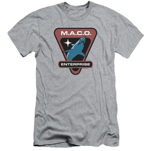 Star Trek Maco Patch Hbo Short Sleeve Adult Athletic T-Shirt