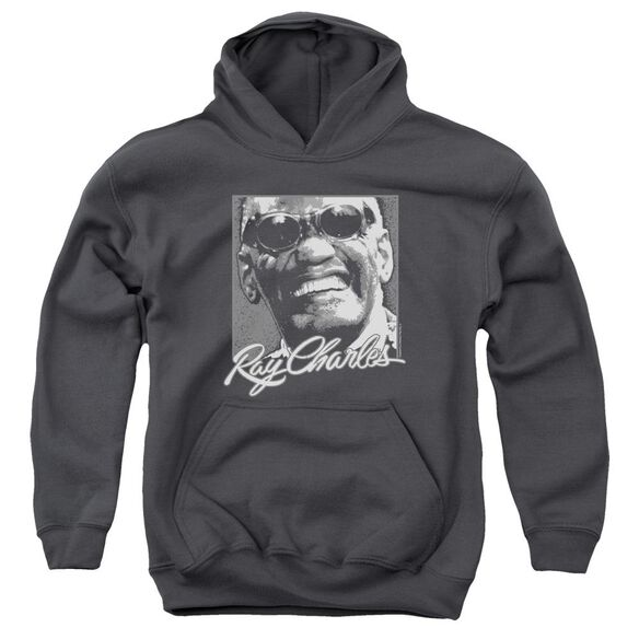 Ray Charles Signature Glasses Youth Pull Over Hoodie