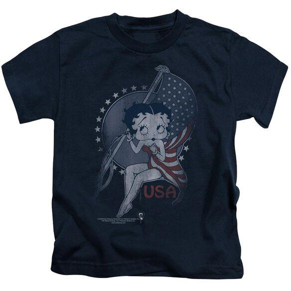 Betty Boop Proud Betty Short Sleeve Juvenile T-Shirt