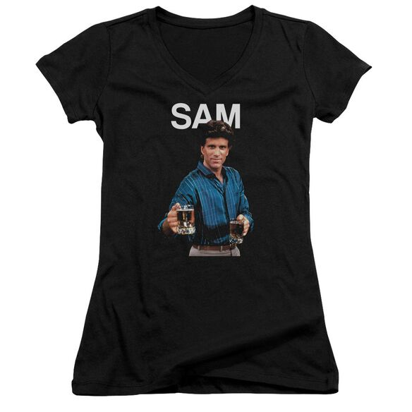 Cheers Sam Junior V Neck T-Shirt