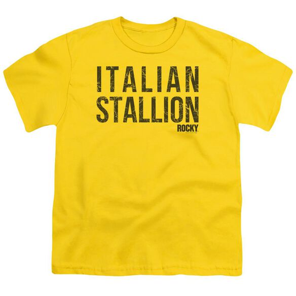 Rocky Italian Stallion Short Sleeve Youth T-Shirt