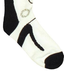 Portal 2 Long Fall Socks