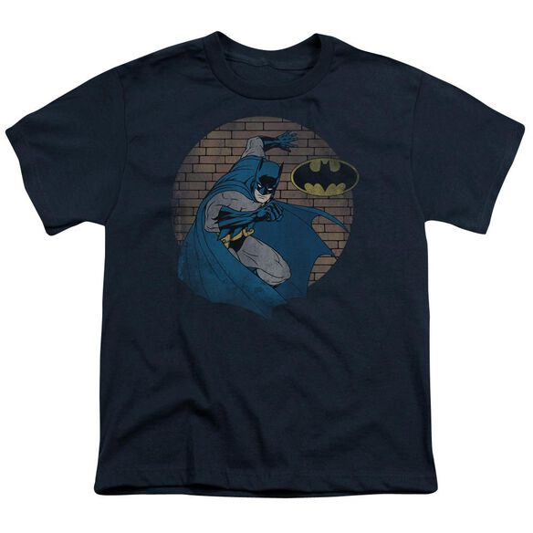 Batman In The Spotlight Short Sleeve Youth T-Shirt