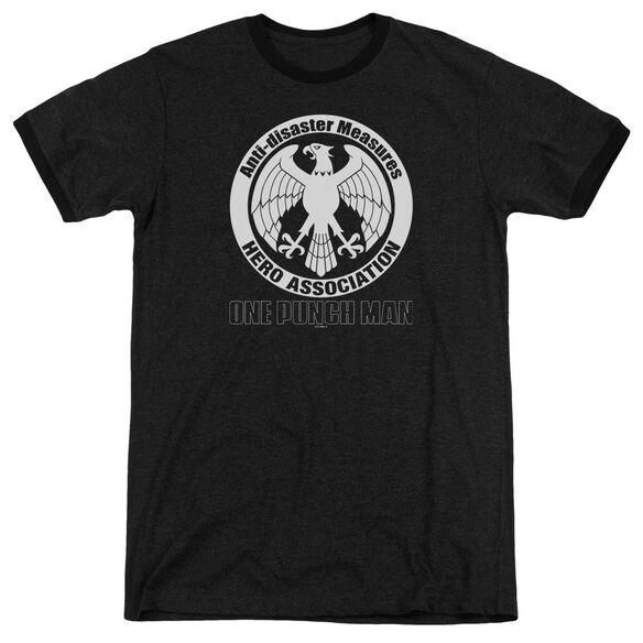 One Punch Man Hero Association Logo Adult Ringer