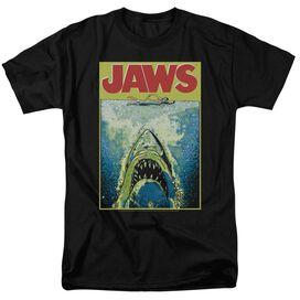 Jaws Bright Jaws Short Sleeve Adult T-Shirt