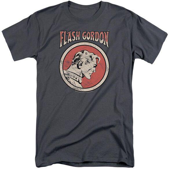 Flash Gordon Flash Circle Short Sleeve Adult Tall T-Shirt