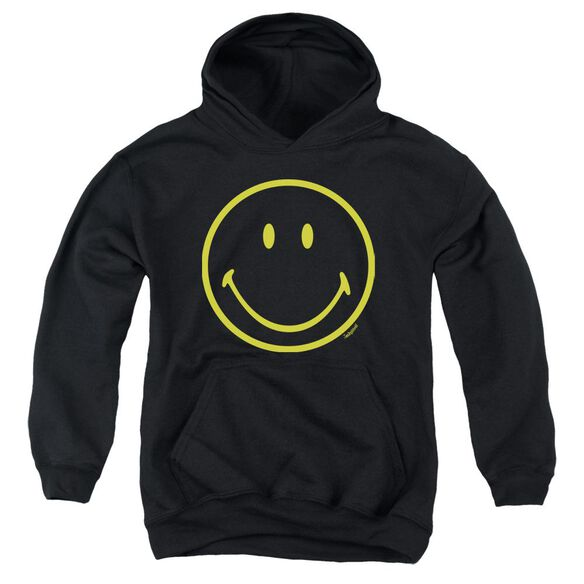Smiley World Yellow Line Smiley Youth Pull Over Hoodie