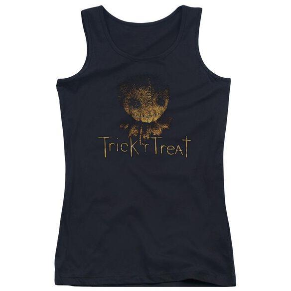 Trick R Treat Logo Juniors Tank Top
