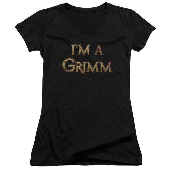 Grimm Im A Grimm Junior V Neck T-Shirt