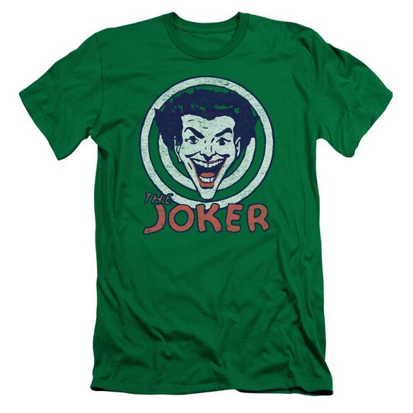 Dc Joke Target Short Sleeve Adult Kelly T-Shirt