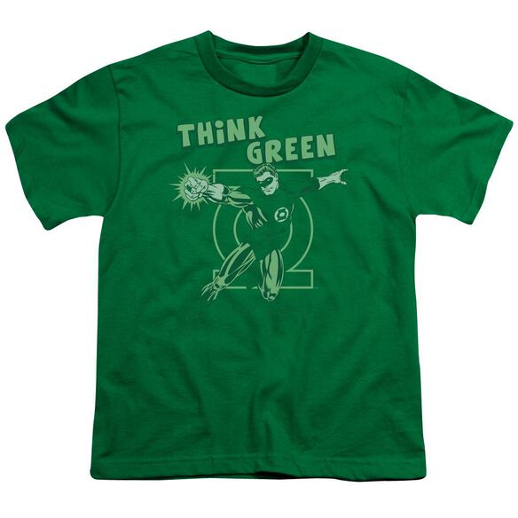 Dc Think Short Sleeve Youth Kelly T-Shirt